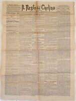IL RESTO DEL CARLINO 2 GENNAIO 1897 ALBANIA FRANA SANT'ANNA PELAGO UMBERTO I