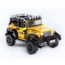 610pcs Offroad Adventure Set Building Blocks Car Series Bricks American Willy's