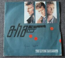 A-Ha, the living daylights - BO de James Bond, SP - 45 tours