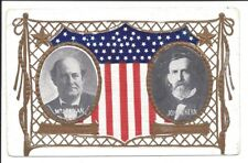 Embossed Political PC, Wm. J. Bryan & John W. Kern, 1908 Election