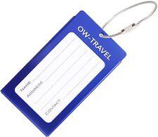 ✅ titular de la tarjeta de negocios de etiqueta de equipaje para maletas Mochila-Azul Oscuro De Viajes De Regalo