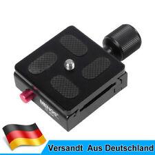 MENGS CL-50A Klemme+Schnellwechselplatte Für DSLR Kamera Stativ mit Arca-Swiss