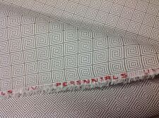 Perennials Grey Outdoor Geometric Upholstery Fabric Origami Dove 1.25 yd 770-102