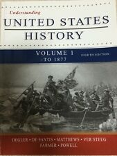 Understanding United States History, Volume 1 - To 1877, 8th Edition