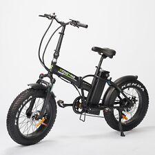 Black TDL6125 Folding Ebike Electric Bike 36V 10AH Lithium Battery  350W Motor