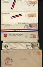US 1920 30s COLLECTION OF 42 PAPER MANUFACTURING & paper RELATED COVER W/CORNER
