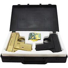 CYMA TWIN SPRING AIRSOFT DUAL PISTOL COMBO PACK SET Hand Gun w/ Case 6mm BB BBs