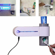 New UV Toothbrush Cleaner Sanitizer Sterilizer Holder Automatic Toothpaste Clean