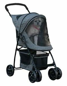 Pet Gear Happy Trails Pet Stroller for Cats/Dogs, Easy Fold with Removable Liner