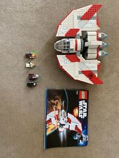 Lego 7931 Star Wars T-6 Jedi Shuttle COMPLETE WITH MINIFIGURES