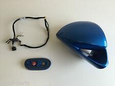 Vauxhall CORSA VXR controladores secundarios Ala Espejo caso, Arden Azul, Genuino 13369329