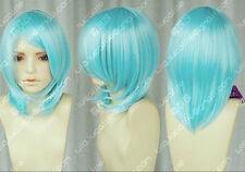Aqua Blue / R cos wig face the msn gentle high temperature wire H220