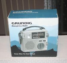 Grundig FR200 Survival Radio Wind Up