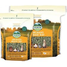 More details for oxbow orchard grass hay for small herbivores  4.05-22kg rabbits, guinea pigs
