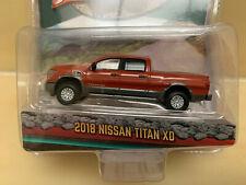 GREENLIGHT GREEN Machine NEW 1//64 2018 Nissan Titan XD Platinum