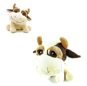 "Russ Berrie Li'L Peepers Marlow Cow Boa Plush Toy 9"" / 22cm"