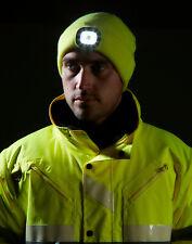 Mütze mit wiederaufladbaren LED - verschiedene Farben und Ausführungen