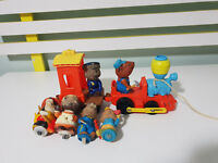 1975 MATTEL HUB BUBS TRAIN AND SPARE PIECES!