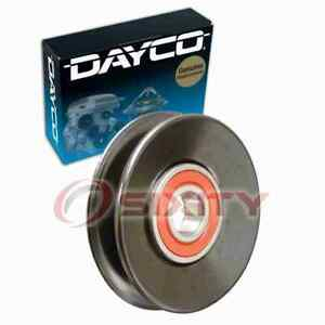 Dayco AC Drive Belt Idler Pulley for 1997-2003 Mitsubishi Montero Sport 3.0L iw