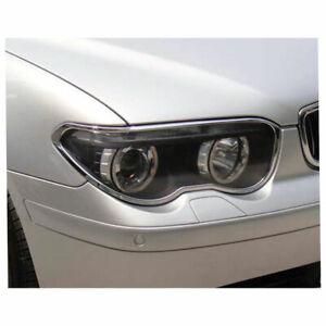 Headlight Bezels for 2002-2005 BMW 7 Series [Chrome] Premium FX