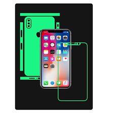 Glow in the Dark Skin Protector,Full Body Vinyl Decal Case Wrap, Apple iPhone X