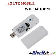 CHIAVETTA INTERNET WIFI UNIVERSALE MODEM CONNESSIONE 4G HDSPA SIM CARD MICRO SD