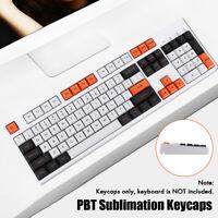 61/104 keys DSA Height PBT Sublimation Keycaps Set for Mechanical Keyboard