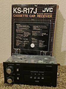 KS-R17J In Dash Cassette Car Receiver  JVC