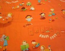 "1 Yard Cotton Fabric ""Kinder - Classroom"" - Heather Ross for Windham Fabric"