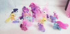 Big My little pony lot ponies 2007 + '08 applejack Pegasus rainbow twilight +