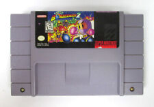Authentic Super Nintendo Super Bomberman 2 SNES Video Game with Free Shipping!
