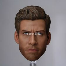 "1/6 Scale Jake Gyllenhaal Head Sculpt Carving Model For 12"" Hot Toys Male Body"