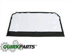 2007-2010 Jeep Wrangler Soft Top Rear Gate Window Without Tint Option OEM MOPAR