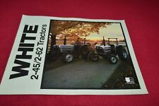 White 2-45 2-62 Tractor Dealers Brochure YABE14