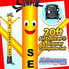 Yellow Se Compra Oro Air Dancer ® & Blower 20ft Dancing Sky Dancer Set