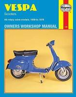 Haynes 126 Manual for Vespa Scooters 90, 125, 150, 180 & 200cc 1959-1978
