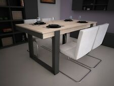 Table à manger extensible bois chêne  LOFTY 180 - 220 cm neuve