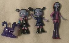 Disney Vampirina Fangtastic Friends And Family Figure Lot Toy Set, dog, mom