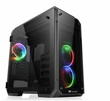 Thermaltake View 71 Tempered Glass RGB Edition Full-tower Nero vane Portacompute