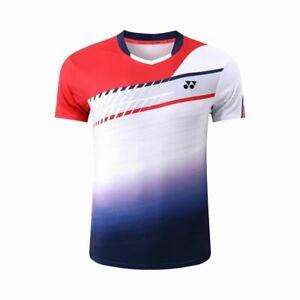 New Men's Tees Sports Tops tennis clothes  badminton T Shirt