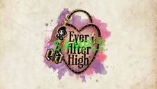 EVER AFTER HIGH Monster Edible Birthday Cake Image Topper 1/4 Sheet Icing Frosti