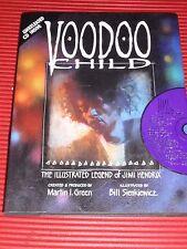 Book Voodoo Child Jimi Hendrix Illustrated Legend