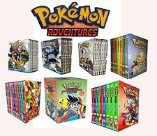 Manga Anime Pokemon Adventure Black & White,Ruby & Saphire Collection Box Set