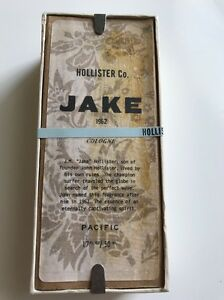 RARE Original Formula Hollister Jake 1.7 OZ Men's Eau de Cologne NEW IN BOX