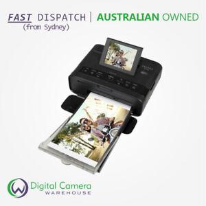 Canon SELPHY CP1300 - Black Compact Dye-Sublimation Portable Photo Printer