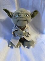 "Non-Talking Star Wars Plush - Stuffed 9"" Yoda Character Plush Toy- NEW"