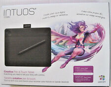 Wacom Intuos Comic Pen & Touch anime & manga digital drawing tablet - Black
