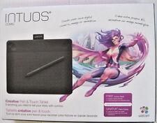 Wacom Intuos Comic Pen & Touch anime & manga digital drawing tablet - Black