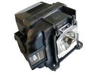 azurano Beamer-Ersatzlampe für EPSON EB-W31 | Beamerlampe mit Gehäuse |