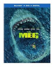 THE MEG   BLU-RAY   DVD   NEW   JASON STATHAM   GIANT SHARK   SHIPS 11/13
